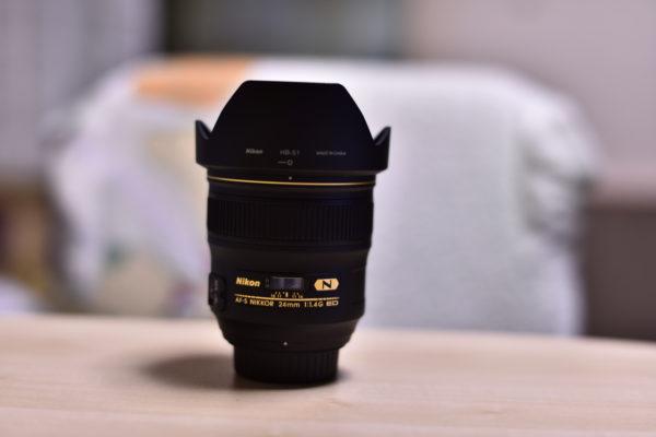 ニコン AF-S Nikkor 58mm f/1.4Gを撮影