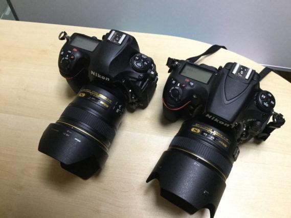 ニコン、Niko、D850とD810、いPad miniで撮影。