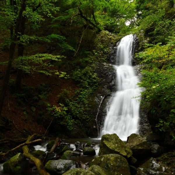 寂光の滝、AF-S Nikkor 24-70mm f/2.8E ED VRで撮影