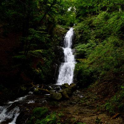 栃木県日光市、寂光の滝、女神の滝