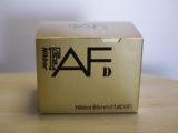 Ai AF Nikkor 85mm f1.4D IFを買い替えました。