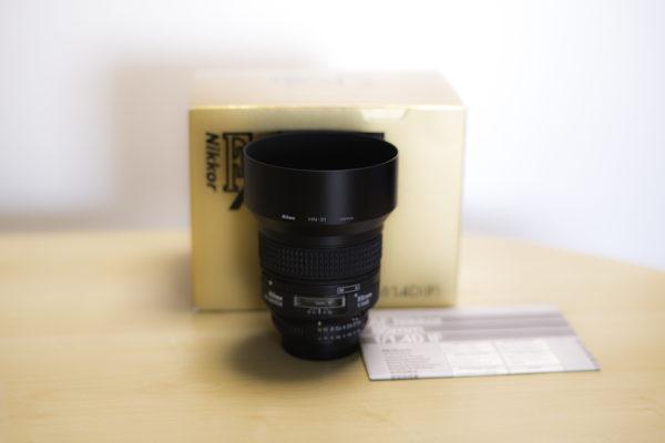Ai AF Nikkor 85mm f1.4D IF、コンディション最高です。