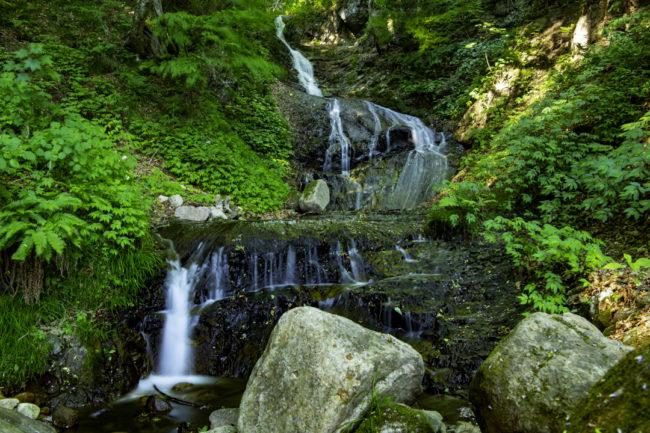 縁結びの滝、スローシャッター