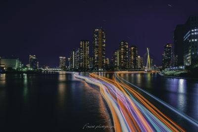 合成写真、コンポジット、光を捉える
