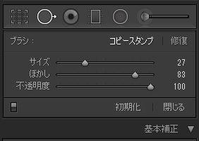 Adobe,Lightroom,スポット補正ツール