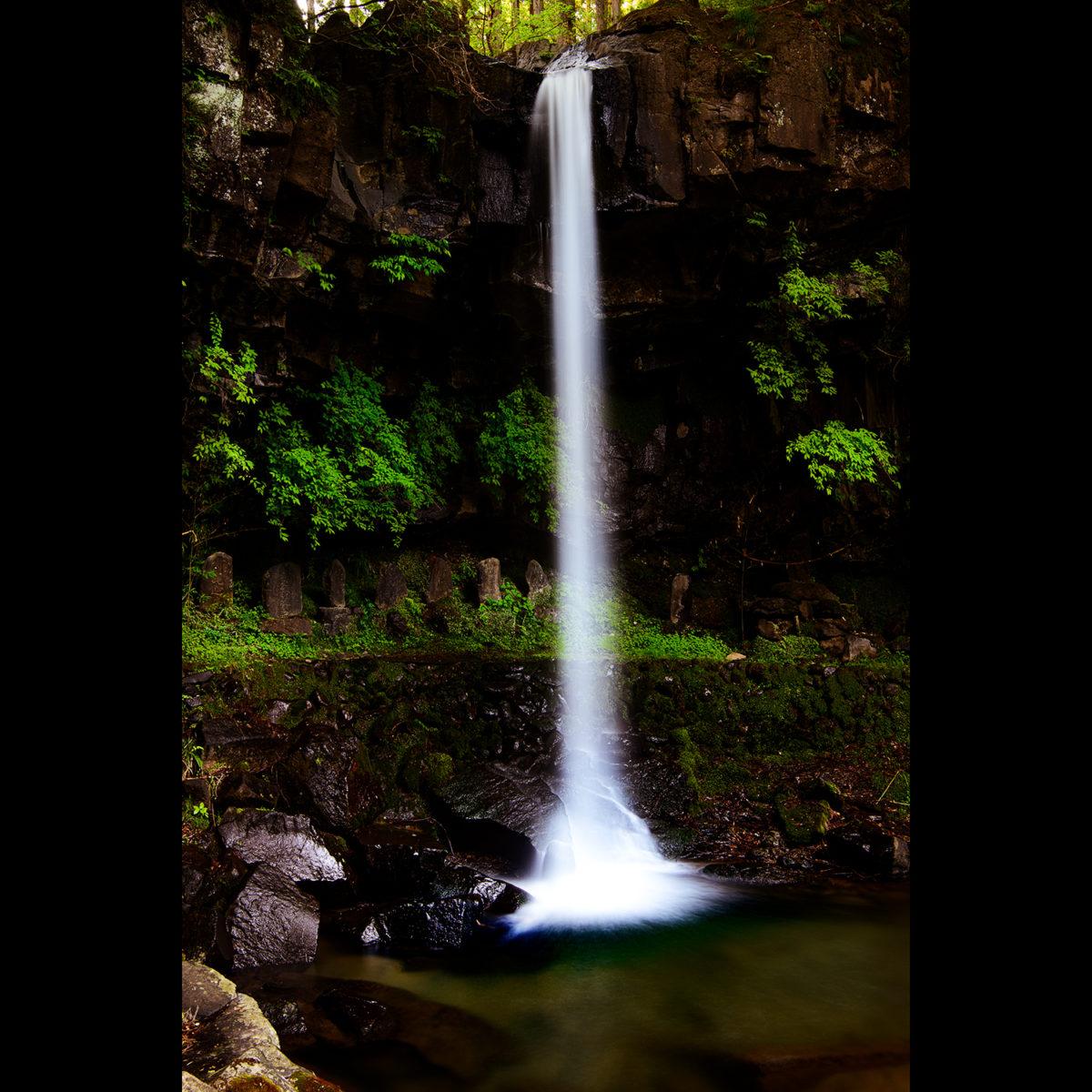 スローシャッター13秒で撮影した仙ケ滝