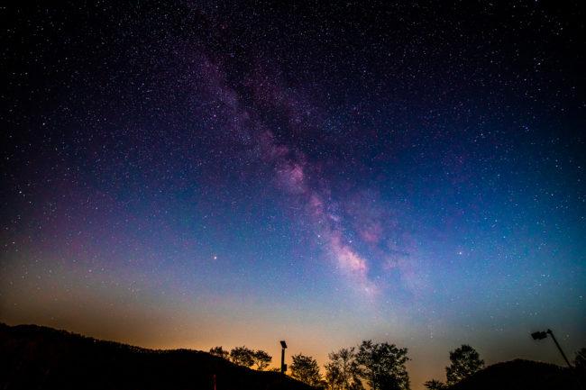AF-S Nikkor 14-24mm f/2.8G ED、赤城山で天の川撮影